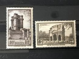 FRANCE  YT 389.393. Neuf *. 1938. Côte 10.00 € - France