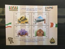 Iran - Postfris / MNH - Sheet Wereldexpo Milaan 2015 - Iran