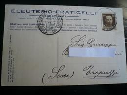 """Teramo  Imperiale 29 Aprile1929 """" Primo Mese D'uso"""" (9°g) - Storia Postale"""