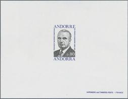 Andorra - Französische Post: 1974 - 1986, Album With Approx. 60 Èpreuve De Luxe On Various Themes. ÷ - Französisch Andorra