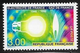 TIMBRE N° 2996   -   CENTENAIRE ELECTRICITE ET GAZ DE FRANCE  -  NEUF - 1996 - Nuovi