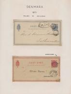 Skandinavien: 1871/1999 Postal Stationery Collection Of About 350 Used Postal Stationery Postcards ( - Sonstige - Europa