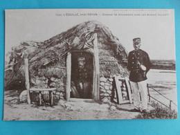 17 :L'EGUILLE : CABANE De DOUANIERS Dans Les MARAIS., C.P.A.,carte En Bon état ,(reproduction) - Altri Comuni