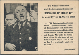 Ansichtskarten: Propaganda: Collection Of Ca 112 Propaganda Postcards And A Few Flyers With Reichspa - Partis Politiques & élections