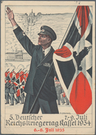 Ansichtskarten: Propaganda: Collection Of Ca 115 WWII-era Propaganda Cards, With Many Better Items S - Partis Politiques & élections