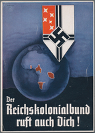 Ansichtskarten: Propaganda: Collection Of Ca 122 Propaganda Cards With A Large Portion Of Hitler You - Partis Politiques & élections