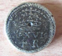 Espagne - Poids Monétaire 4 Réaux Philippe II à Philippe V - 10 Deniers, 16 Grains - Espagne