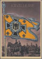 Ansichtskarten: Propaganda: 1939/1945: Bestand Von 11 Propagandakarten, Meist Bessere Motive, In übe - Partis Politiques & élections