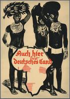 Ansichtskarten: Propaganda: 1939/1945: Bestand Von 140 Propagandakarten, Meist Bessere Motive, In üb - Partis Politiques & élections