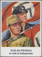 Ansichtskarten: Propaganda: 1939/1945: Bestand Von 150 Propagandakarten, Meist Bessere Motive, In üb - Partis Politiques & élections