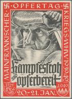 Ansichtskarten: Propaganda: 1939/1945: Bestand Von 70 Propagandakarten, Meist Bessere Motive, In übe - Partis Politiques & élections