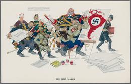 Ansichtskarten: Propaganda: 1939/1945: Bestand Von 78 Propagandakarten, Meist Bessere Motive, In übe - Partis Politiques & élections