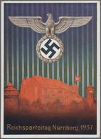Ansichtskarten: Propaganda: 1939/1945: Bestand Von Mehr Als 44 Propagandakarten, Meist Bessere Motiv - Partis Politiques & élections