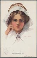 Ansichtskarten: 1899-2000, Partier Mit über 1.300 Karten Quer Durch Die Jahrzehnte, Dabei Tolle Lith - Cartes Postales