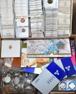 Alle Welt: Sehr Umfangreicher Münznachlass. Egal Ob Ungültige Münzen (Kiloware), Kursgültige Münzen, - Münzen