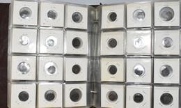 Malaiische Staaten: Ein Album Mit 180 Unbestimmten Münzen Der Malaiischen Staaten / Malaysia Tin Coi - Malaysia