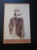 REUTLINGER - Photographie De L'actrice Cécile SOREL [11X16 - Circa 1895] - Photos