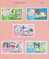 31515. Lote Filatelico SHARJAH 1968. Theme OLYMPIC Games. Olimpiadas - Sharjah