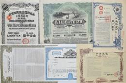 Alte Aktien / Wertpapiere: Kleines Lot Mit 18 Wertpapieren / Anleihen / Aktien / Shares. Dabei Aus J - Ohne Zuordnung