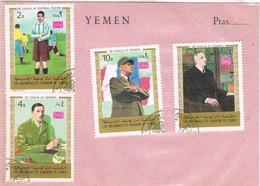 31516. Lote Filatelico YEMEN 1970. Theme President DE GAULLE - Yemen