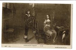 CPA - Carte Postale -Belgique Musée Des Beaux Arts -Le Duo De Gonzales CoquesVM387 - Musea