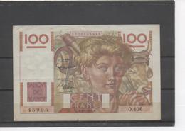 100 Francs Jeune Paysan - - 1871-1952 Anciens Francs Circulés Au XXème