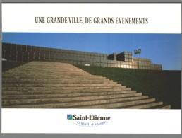 CPM 42 - Saint Etienne - Tour De France 1997 - Coupe Du Monde 1998 - Saint Etienne