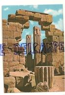 Karnak. Colonnes à Chapiteaux Papyrus Et Lotus - Egypte