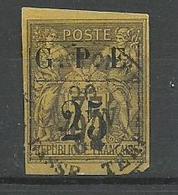 Guadeloupe YT N° 2 Obl. Cote 70€ - Oblitérés