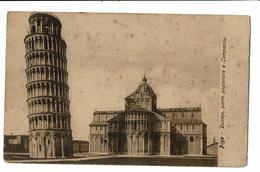 CPA - Carte Postale -ITALIE - Pisa - Duomo -Porte Posteriore E Campanile-1907 VM388 - Pisa