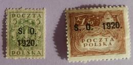 SILESIE ORIENTALE  ANNEE 1920  YT 35/41 NEUFS*/(*) - Silezië (Opper- En Neder-)