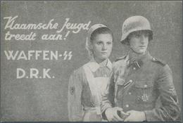 Feldpost 2. Weltkrieg: 1939/1945, Sammlung Von über 100 SS-Belegen Der Waffen-SS, Totenkopf-SS, Ordn - Allemagne