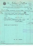 Nordhorn, Gent: 1934, Ets. Niehues & Dütting; Manifacture De Coton, Filature, Tissage, Teinture Et Blanchiment - Factures & Documents Commerciaux