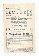 Publicité , L'ALMANACH HACHETTE , 1935 ,bulletin D'abonnement , 2 Scans - Publicités