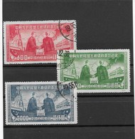 CHINA  1950   MAO UND STALIN     GESTEMPELT - 1949 - ... People's Republic