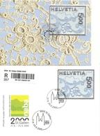 Schweiz, 2000, 2x Stickereimarke , Siehe Scans! - Switzerland