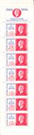 France 1994 MNH Sc #2409a Booklet Marianne De Dulac - Carnets