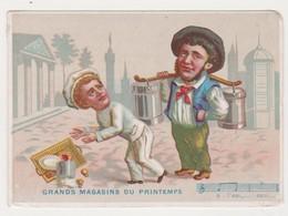 26821 Chromo Magasin Grands Magasins PRINTEMPS Paris -porteur D'eau Patissier - Autres