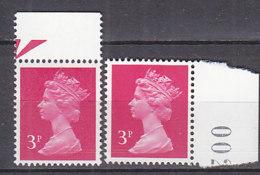 PGL BZ507 - GRANDE BRETAGNE Yv N°965/965a ** MACHINS - 1952-.... (Elizabeth II)