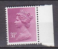 PGL BZ522 - GRANDE BRETAGNE Yv N°1081 ** MACHINS - 1952-.... (Elizabeth II)