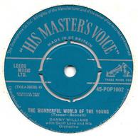 """Danny Williams  """"  The Wonderful World Of The Young  """" - Vinyles"""