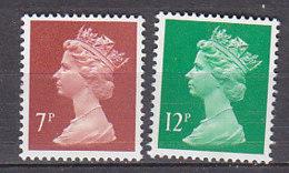 PGL BZ541 - GRANDE BRETAGNE Yv N°1200/01 ** MACHINS - 1952-.... (Elizabeth II)