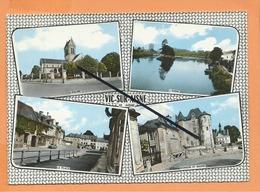 CPSM Grand Format -  Vic Sur Aisne -(20. Aisne) - (  Multivue , Multivues   ) - Vic Sur Aisne