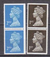 PGL BZ564 - GRANDE BRETAGNE Yv N°1392+a/1993+a ** MACHINS - 1952-.... (Elizabeth II)