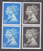PGL BZ581 - GRANDE BRETAGNE Yv N°1443+c/1444+c ** MACHINS - 1952-.... (Elizabeth II)