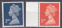 PGL BZ588 - GRANDE BRETAGNE Yv N°1473/74 ** MACHINS - 1952-.... (Elizabeth II)