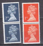 PGL BZ591 - GRANDE BRETAGNE Yv N°1475+a/1476+a ** MACHINS - 1952-.... (Elisabetta II)