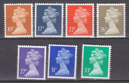 PGL BZ592 - GRANDE BRETAGNE Yv N°1477/83 ** MACHINS - 1952-.... (Elizabeth II)