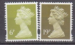 PGL BZ652 - GRANDE BRETAGNE Yv N°1772/73 ** MACHINS - 1952-.... (Elizabeth II)