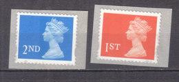 PGL BZ667 - GRANDE BRETAGNE Yv N°1946/47 ** MACHINS - 1952-.... (Elizabeth II)